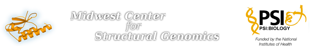 Midwest Center for Structural Genomics